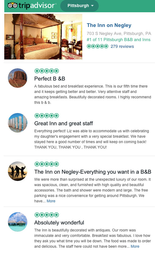were rated 1 on tripadvisor read the reviews click here