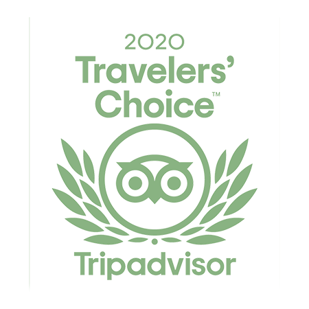 Tripadvisor Traveler's choice 2020 award