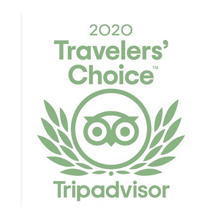 Tripadvisor Traveler's choice 2020 award