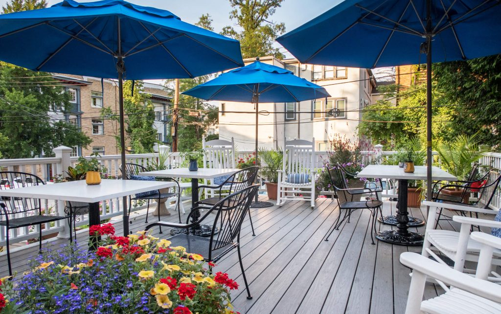 Outdoor patio and dining